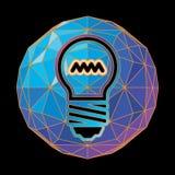 Abstract Light Bulb Stock Photography