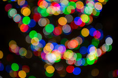 Abstract light celebration blur background. Stock Images