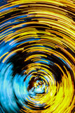 Abstract light. Circle in vertical Stock Image