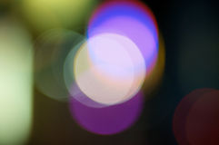 Abstract light circles Stock Photography