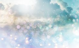 Abstract light and cludscape background Royalty Free Stock Photo