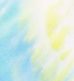 Abstract light color watercolor background Royalty Free Stock Photo