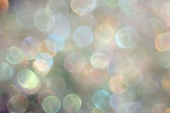 Abstract light colored background with bokeh. Photo Stock Images