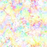 Abstract light colorful smoke on white background. Multicolor clouds. Rainbow cloudy pattern. Blur texture. Seamless illustration. Stock Photo