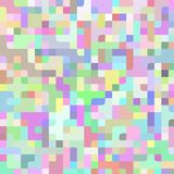 Abstract light colorful vector pixel horizontal technology background. Business backdrop with pixels. Pixelated pattern. Texture illustration vector illustration