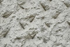 Decorative plaster wall facade stock images