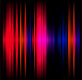 Abstract light effect music red and black background Stock Photography