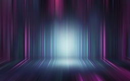 Abstract light effect texture blue pink purple wallpaper 3D rend. Colorful blue pink purple abstract light effect texture wallpaper 3D rendering stock illustration