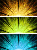 Abstract light explosion backgrounds Royalty Free Stock Images