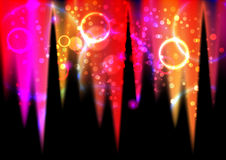 Abstract light flares Royalty Free Stock Photos