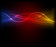 Abstract light glowing background Stock Photo
