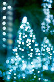 Abstract light glowing decoration Christmas, soft and blur concept Royalty Free Stock Image