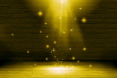 Abstract light gold background : fill object. Royalty Free Stock Photography