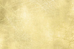 Gold background texture - grunge design Royalty Free Stock Photography