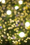 The abstract light golden bokeh background in Christmas festival stock images