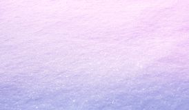 Abstract light gradient background. Wide Angle Nature Winter snow background, selective focus. Soft template for Christmas, New. Year. Delicate beautiful snow royalty free stock photography