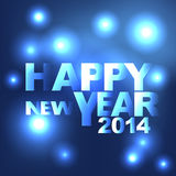 Abstract light Happy New Year  background Stock Images