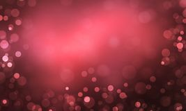 Abstract light Heart bokeh background, Christmas lights, Blurry lights, Glitter sparkle, Valentine Festival. Abstract light Heart bokeh background, Christmas Royalty Free Stock Image