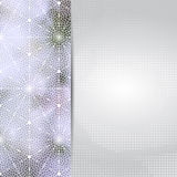 Abstract light lilac card or invitation template. Royalty Free Stock Photo