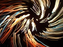 abstract light lines Στοκ Φωτογραφία
