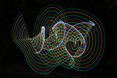 abstract light lines Στοκ Εικόνες