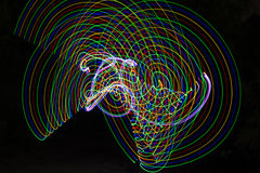 abstract light lines Στοκ φωτογραφία με δικαίωμα ελεύθερης χρήσης