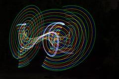 abstract light lines Στοκ εικόνες με δικαίωμα ελεύθερης χρήσης