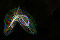 abstract light lines Στοκ Φωτογραφίες