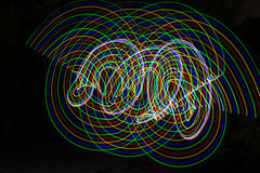 abstract light lines Στοκ Εικόνα