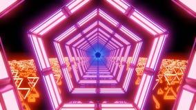 Abstract light loop vector illustration
