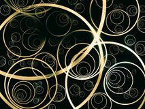 Abstract light loop. Royalty Free Stock Images