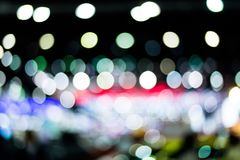 Abstract light many color bokeh background,Defocused. Close up royalty free stock image