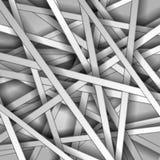 Abstract light monochrome vector stripes Royalty Free Stock Photos