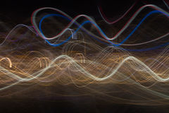 Abstract light movement background Royalty Free Stock Images