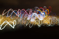 Abstract light movement background Royalty Free Stock Photos