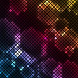Abstract Light multicolored mosaic background Stock Images