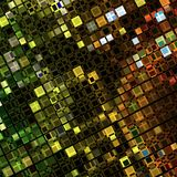 Abstract Light multicolored mosaic background Stock Photo