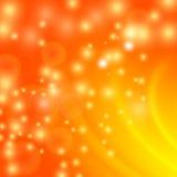 Abstract Light Orange Wave Background. Blurred Orange Pattern Stock Photos