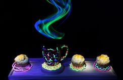 Abstract Light Painting Stock Photography