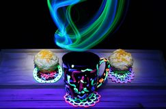 Abstract Light Painting Royalty Free Stock Photo