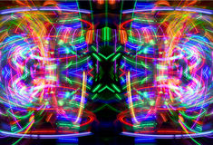 Abstract light pattern Stock Photos