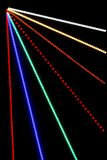 Abstract Light Rays close up. Abstract Light Rays with bokeh from LED's for background Royalty Free Stock Image
