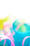 Abstract light ribbon background Stock Image