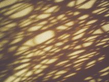 Abstract of light and shadow on leatherette background. Royalty Free Stock Image