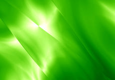 Abstract light shape green color background. Stock Image