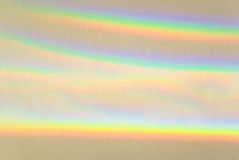 Abstract light spectrum, background. Colorful light spectrum, sun rays in rainbow colors, background stock images