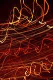 Abstract light trails Stock Image