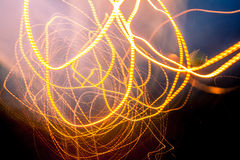 Abstract light trails Royalty Free Stock Images