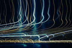 Abstract Light Trails Stock Images