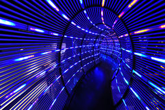 Abstract light tunnel